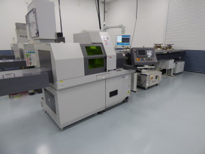 Laser Equipped CNC Lathe