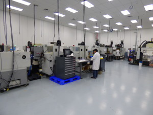 Expanded Machining Center
